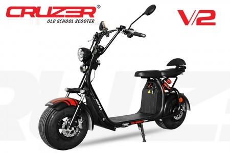 Cruzer 1500W Elektroscooter 45 Kmh EEC mit Straßenzulassung