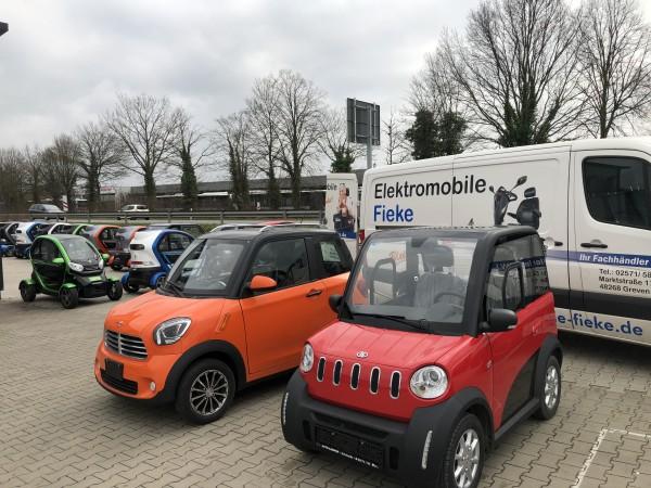 EEC Elektroauto Geco TWIN 4.0 3.5kW
