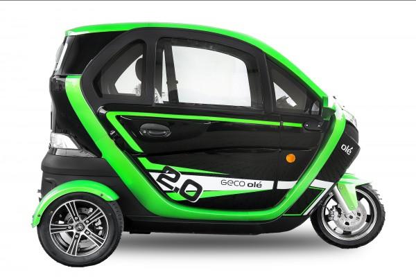 EEC Elektroauto Geco Ole 3000 V6 3kW
