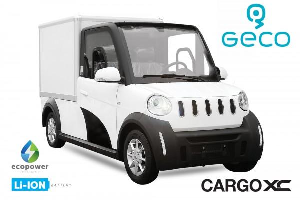 EEC Elektroauto Geco CARGO XC 7.5kW
