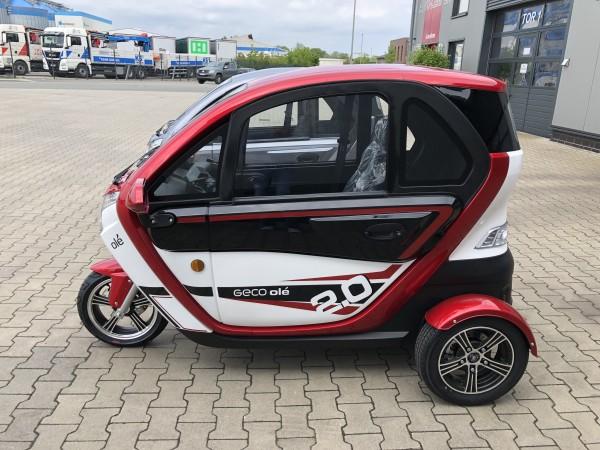 EEC Elektroauto Geco Ole 2000 V4 2KW