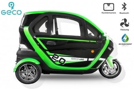 EEC Elektroauto Geco Ole 2000 V6 2KW
