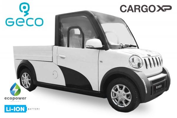 EEC Elektroauto Geco CARGO XP 7.5kW
